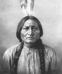 Lakota Chief, Sitting Bull, led more than 2,000 Native American warriors against Custer's 7th Cavalry at the Battle of Little Bighorn in 1876.